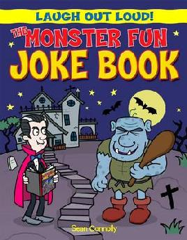 Cover of The Monster Fun Joke Book