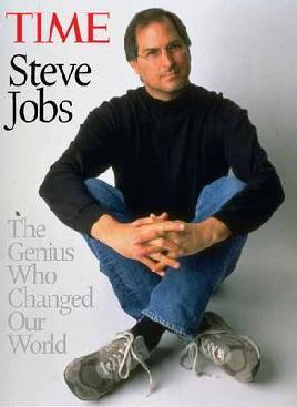 Cover: Steve Jobs