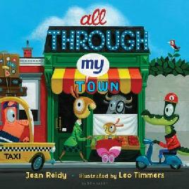 Cover of All through the town