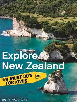 Cover of Explore New Zealand