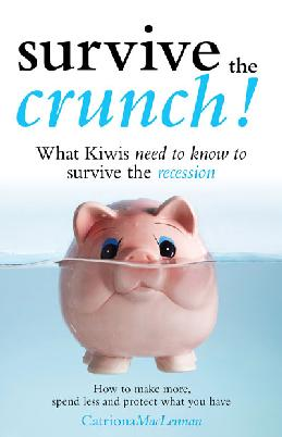 """Cover of """"Survive the crunch!"""""""