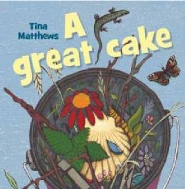 Cover of A great cake.