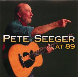 cover for Pete Seeger at 89