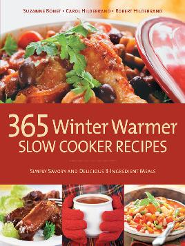 Cover of 365 Winter Warmer Slow Cooker Recipes