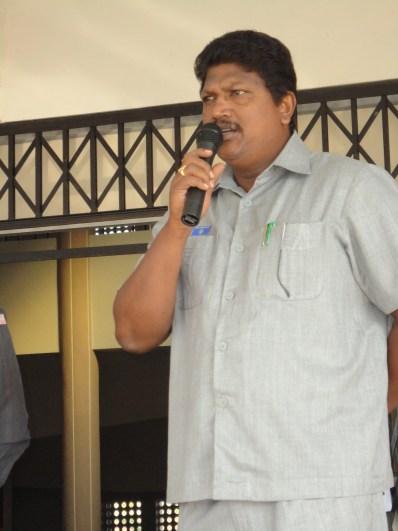 address by Principal Sir