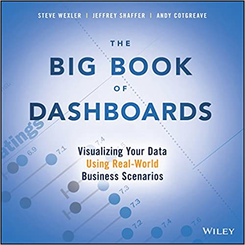 Book Cover: Big Book of Dashboards