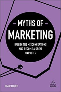 Book Cover: Myths of Marketing