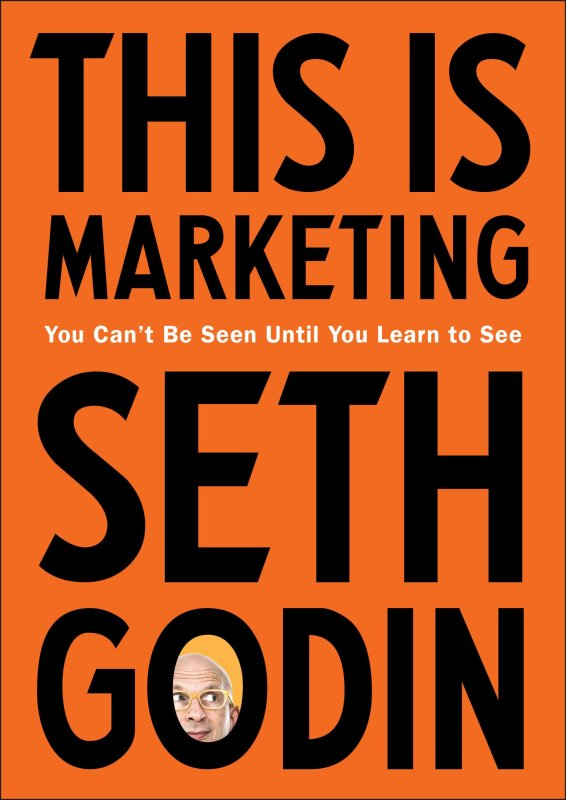 Book Cover: This is Marketing