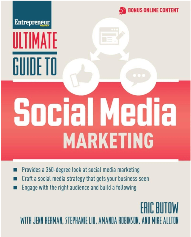 Book Cover: Ultimate Guide to Social Media Marketing