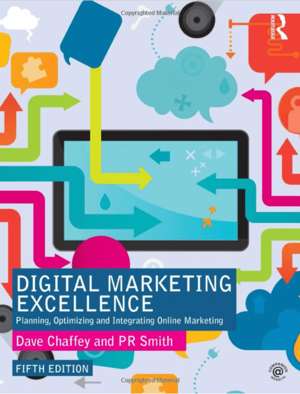 Book Cover: Digital Marketing Excellence: Planning, Optimizing and Integrating Online Marketing