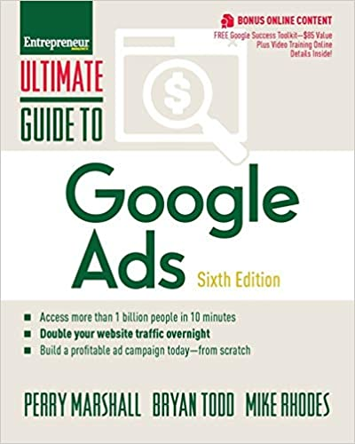Book Cover: The Ultimate Guide to Google Ads