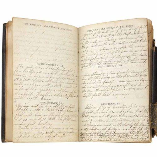 Bartlett's Diary
