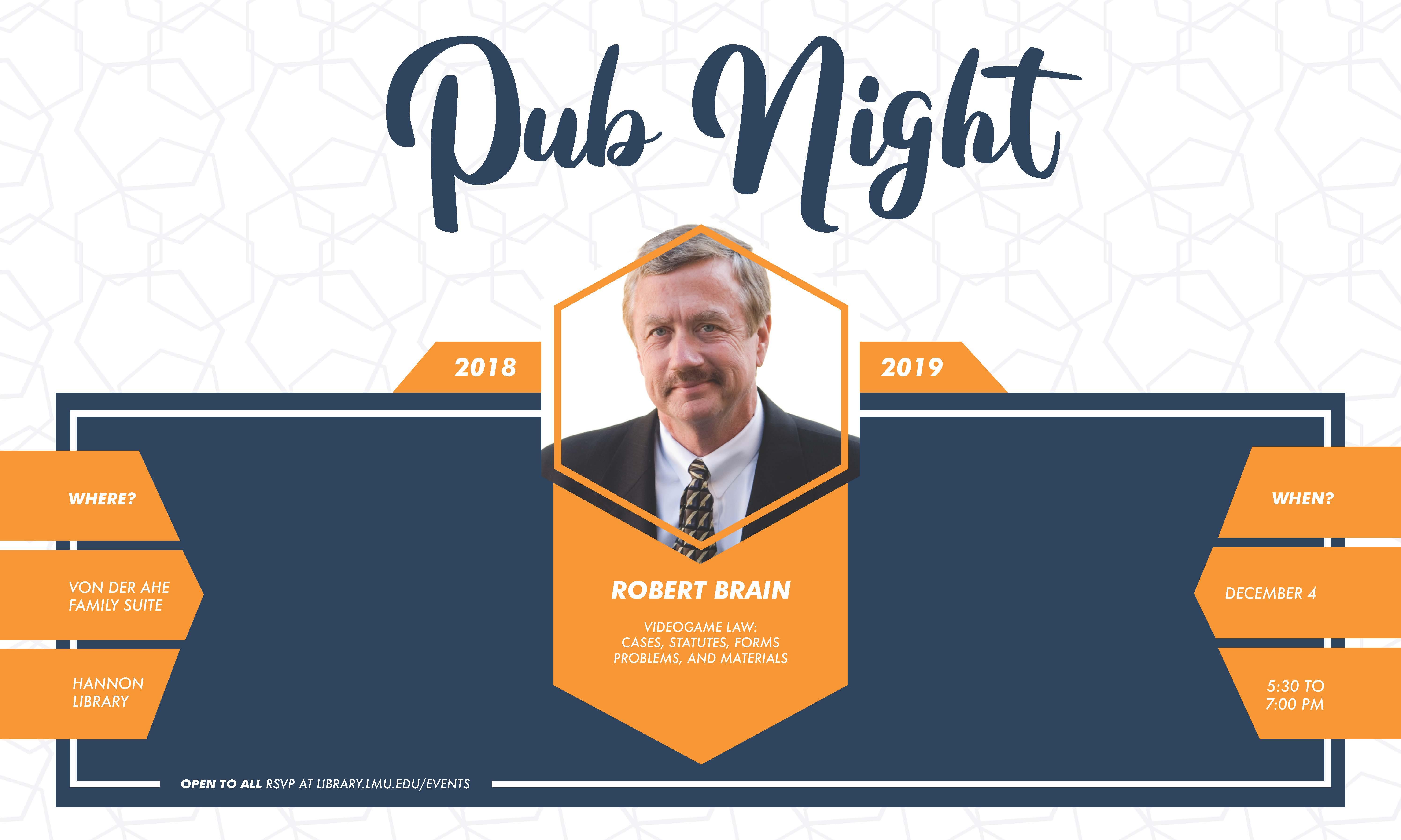 Brain Pub Night promo