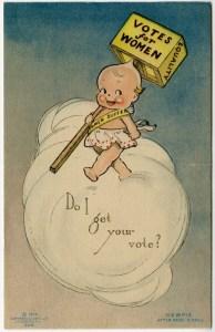 Kewpie postcard
