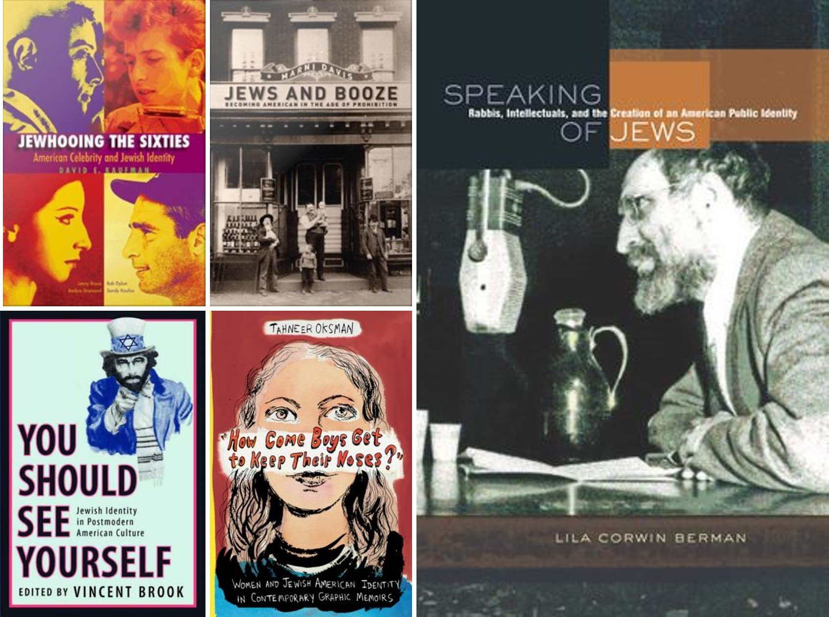 book covers for jewish american heritage month
