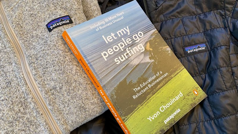 Let my people go surfing   Yvon Chouinard