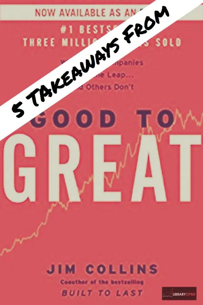 Good to Great is a Business Classic! It is a must read for all #professionals!