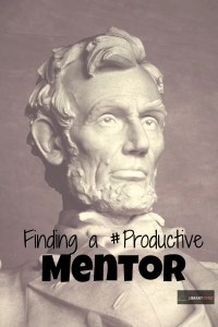 Check out our post on finding a #productive #mentor!