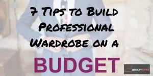 professional wardrobe on a budget