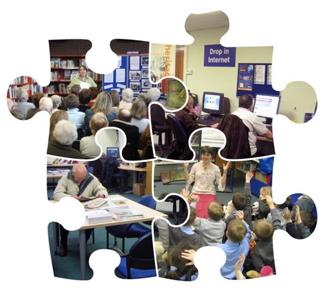 Public libraries are more than just book issuing points (Photos © East Renfrewshire Council)