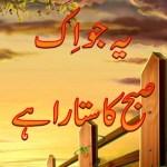 Ye Jo Ik Subha Ka Sitara Hai Novel By Umera Ahmed Pdf