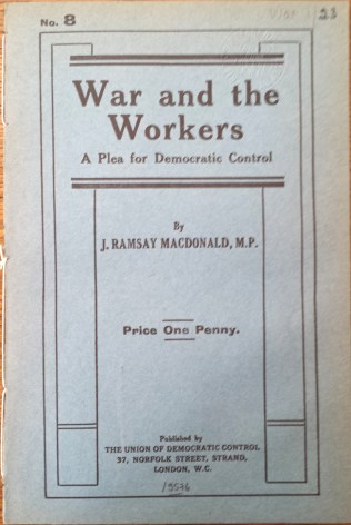 Macdonald, War and the workers