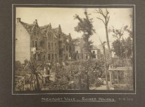 Nieuport - ruined houses