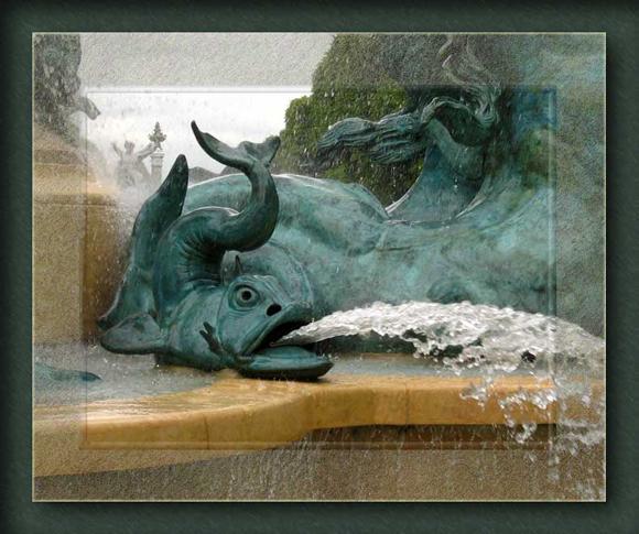 La fontaine poisson