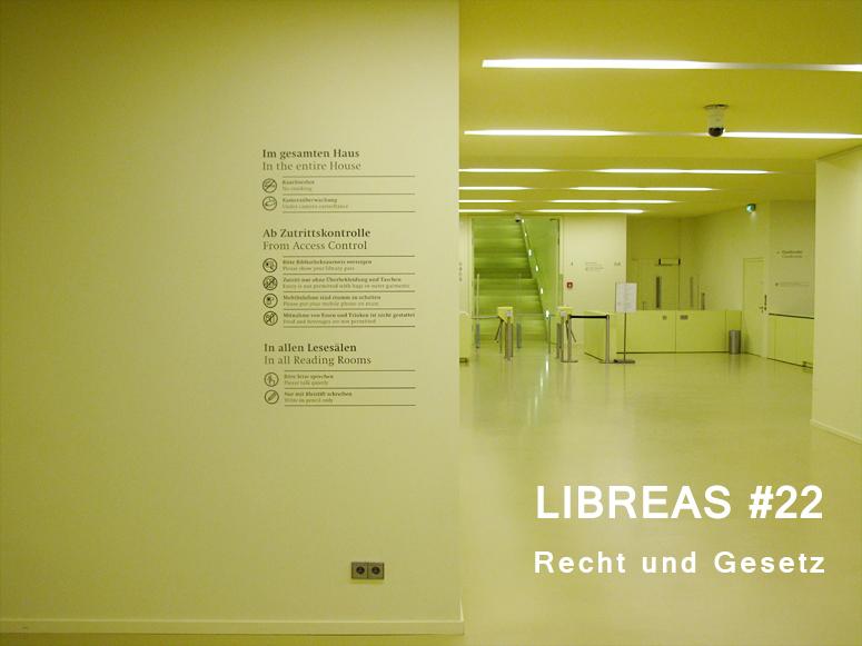 LIBREAS #22 - Recht und Gesetz