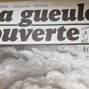 Journal La Gueule Ouverte, écologie sociale