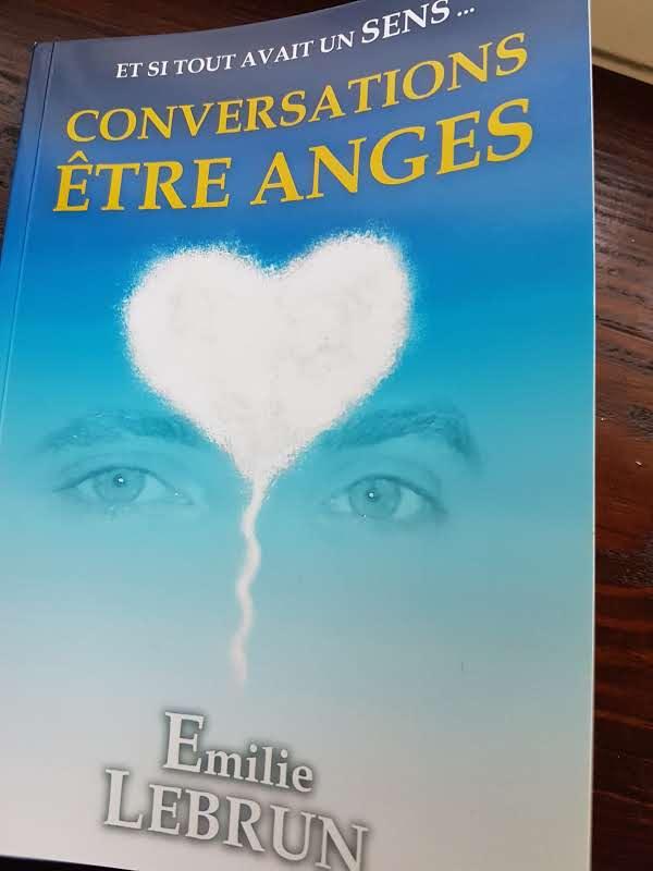 Conversation Être Anges un livre autobiographique d'Emilie Lebrun