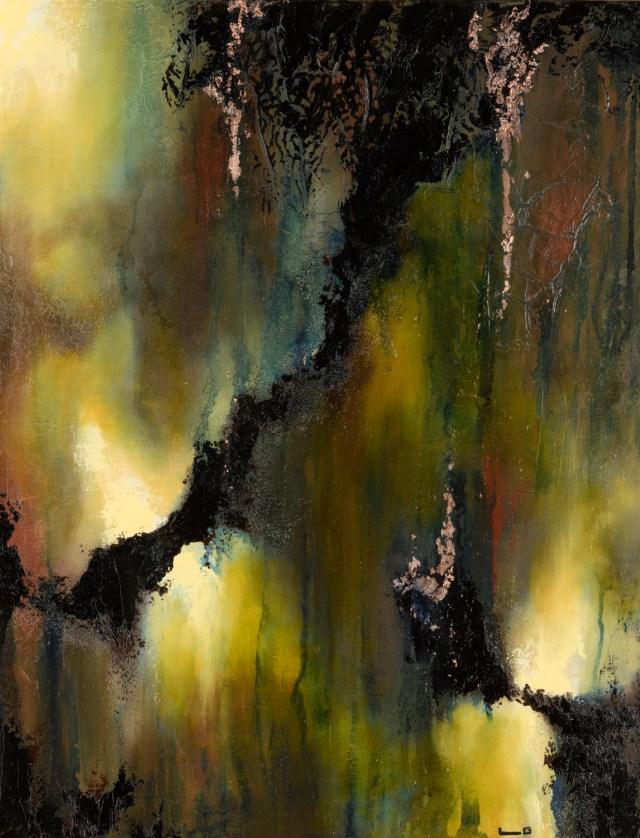 Tableau de l'artiste peintre Laetitia Guillon