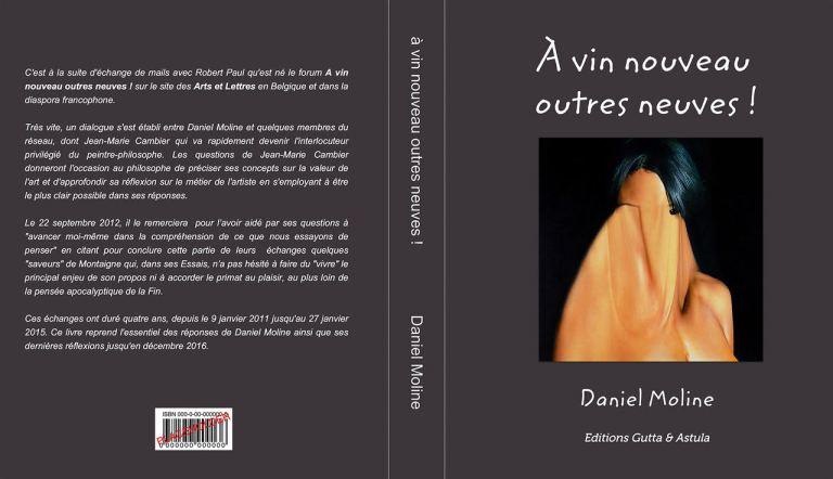 Livre recueil de Daniel Moline