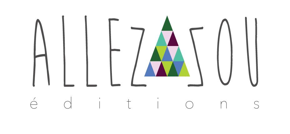 Logo de la maison d'éditions Allez-zou - livres textiles