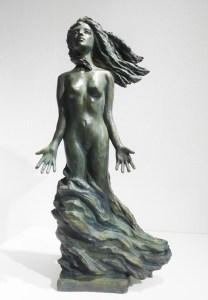 Parfum d'écume - Bronze de Anne Boisaubert