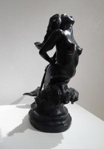 Le bronze L'Amour et la Mort, de Anne Boisaubert