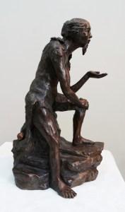 La Sagesse, bronze du sculpteur Anne Boisaubert