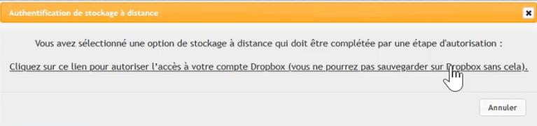 """""""Dropbox"""" demande ton identité"""
