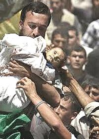 Gaza, la strage dei bambini palestinesi