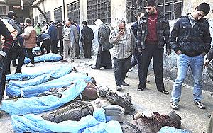 Siria, vittime della guerra scatenata dalle milizie anti-Assad