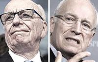 Murdoch e Cheney
