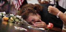 Il dolore dei familiari delle vittime dell'11 Settembre