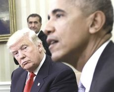 Trump e Obama