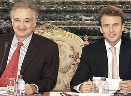 Attali e Macron