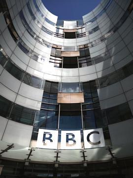 La sede centrale della Bbc