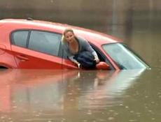 Auto in acqua