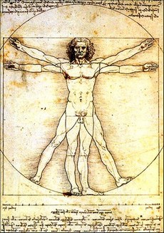 L'Uomo Vitruviano di Leonardo