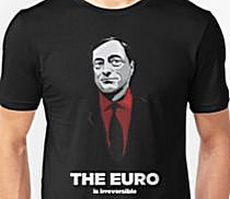 T-shirt con Mario Draghi
