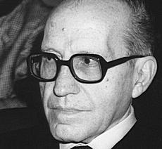 Il professor Federico Caffè