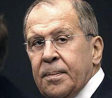 Il ministro degli esteri russo Sergej Lavrov